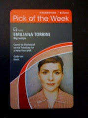 Starbucks iTunes Pick of the Week - Emiliana Torrini - Big Jumps