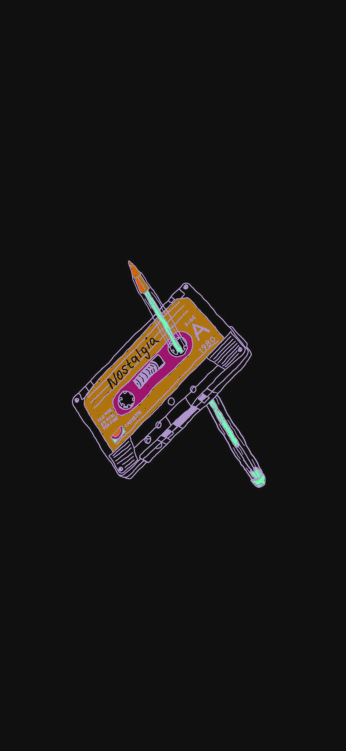 iPhonexpapers.com-Apple-iPhone-wallpaper-ah99-cassette ...
