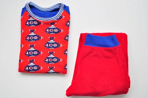 duikboten pyjama