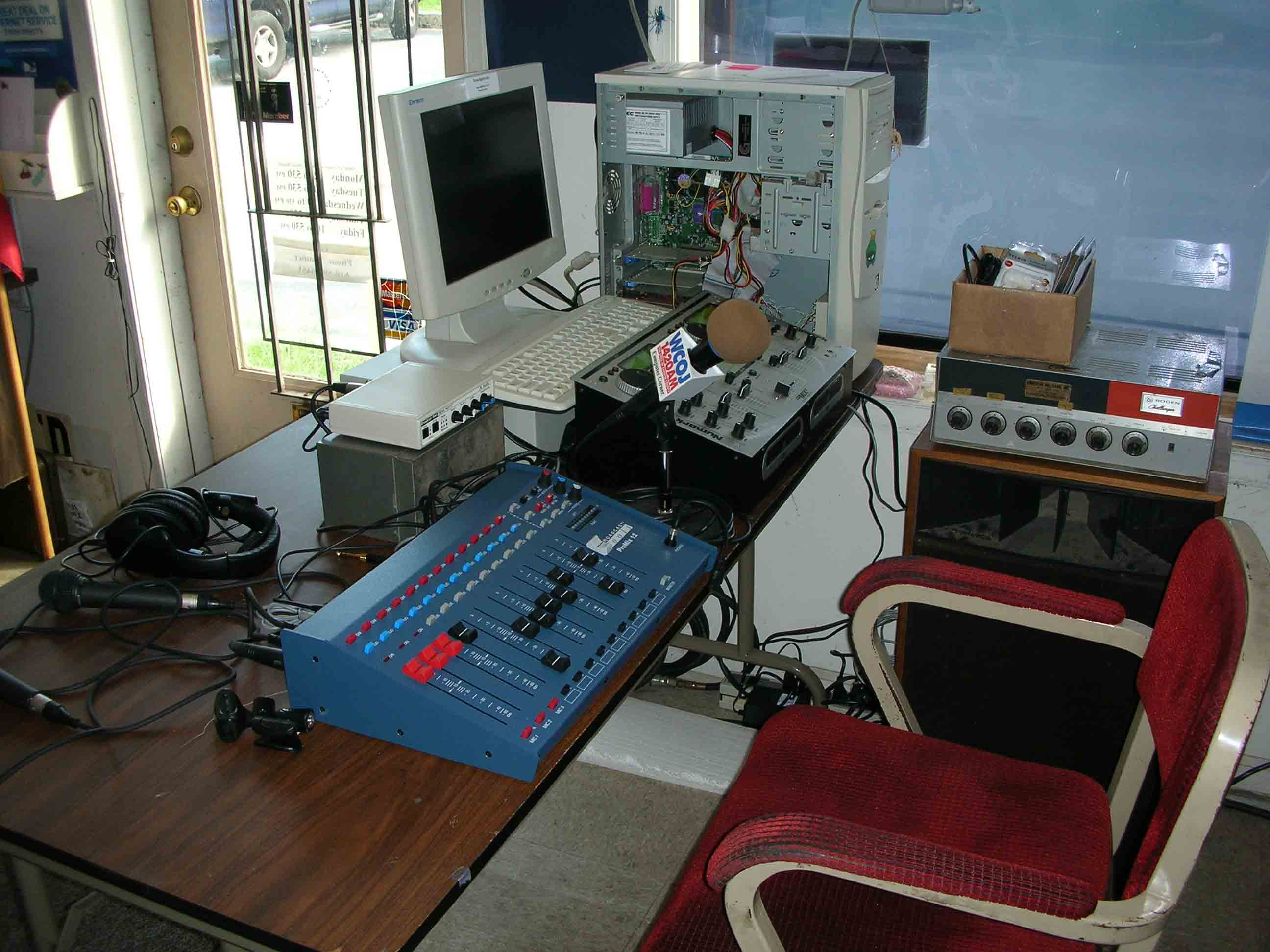 Very First 5DRadio Studio