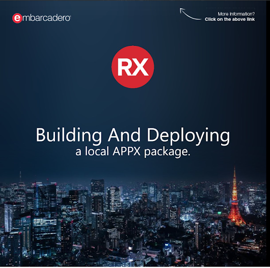 Building and Deploying a Local Appx Package