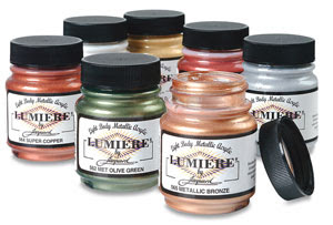 Image result for lumiere by jacquard fabric paint