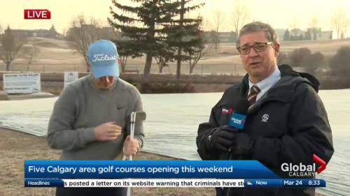 5 Calgary and area golf courses open this weekend | Watch News Videos Online