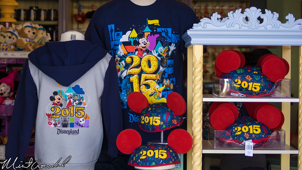 Disneyland Resort, 2015, Merchandise