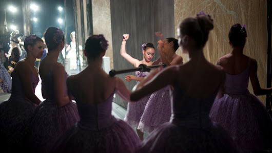 A Ballet Dancer, Offstage, With a Camera - NYTimes.com