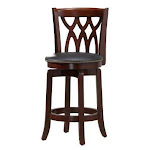 Boraam 40324 Cathedral Stool - 24in - Light Cherry