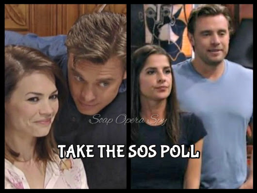 'General Hospital' POLL: Who Is New Jason Better With - Liz or Sam? VOTE!