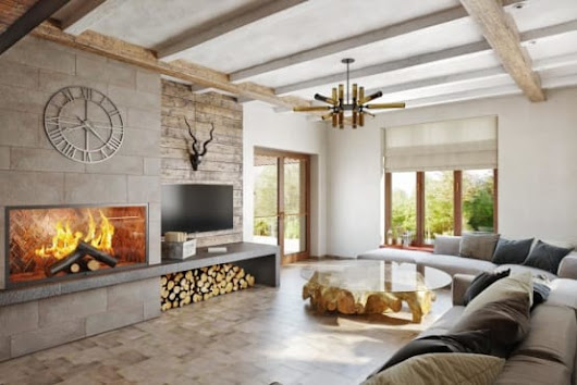 This home is all about chic comfort in wood and white (26 photos)