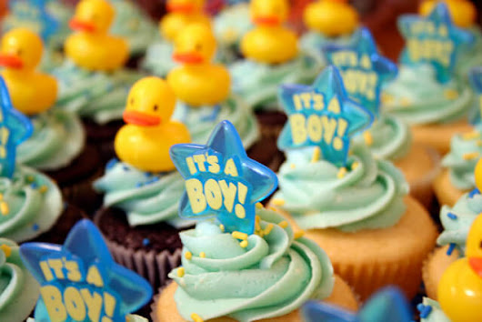 Baby Shower Cupcakes | Maggwire