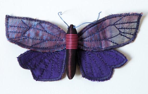 Handmade Fabric Tortricid Moth Silk / Made to Order