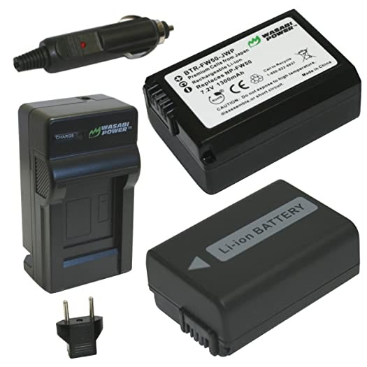 sony a7 np-fw50 battery charger
