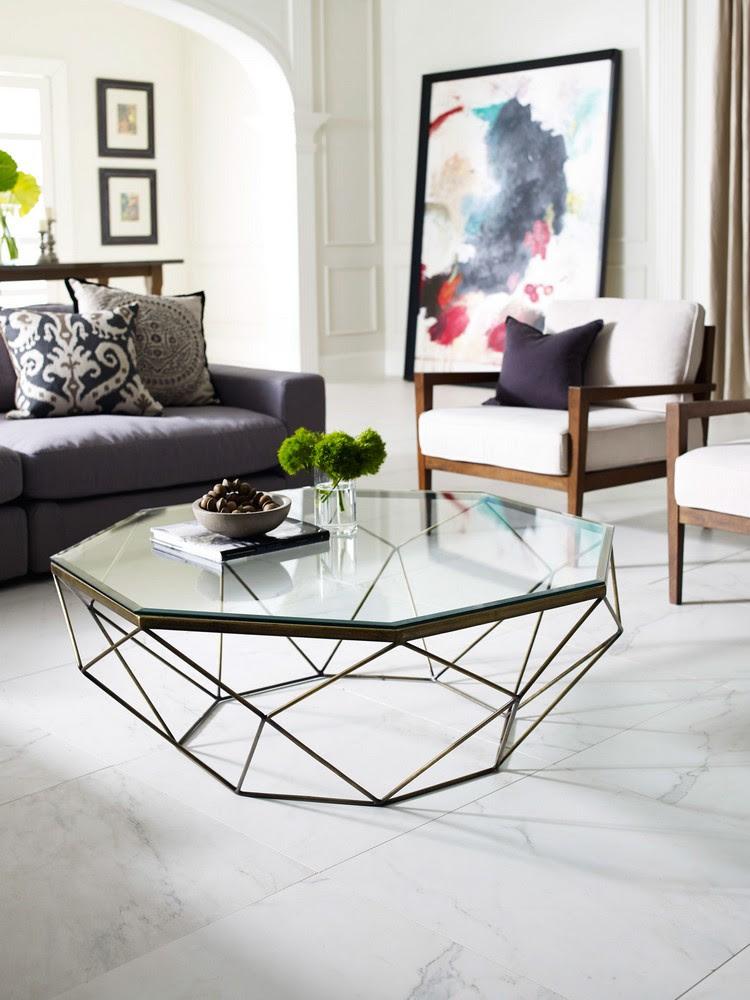 Living Room Decor Ideas: 50 coffee tables ideas in brass ...