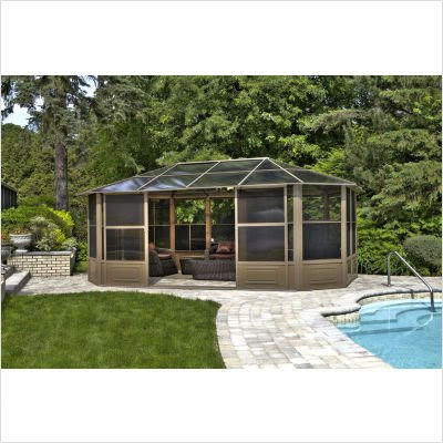 18' Four Season Solariumby Gazebo Penguin