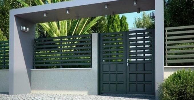 Kumpulan Gambar Pintu Gerbang Rumah Minimalis Modern ...