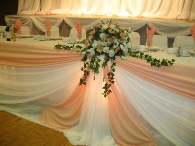 Kandace S Blog Orangepink Theme Flowers At Wedding Head