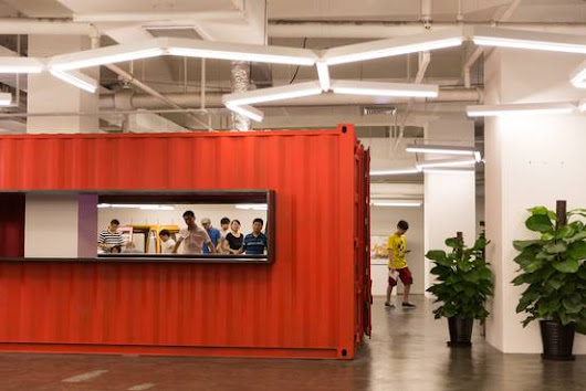 Shared Office Space Comes to China