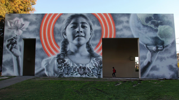 El Mac Murals Outdoors