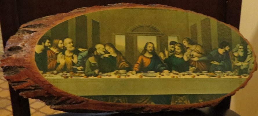 The Last Supper On Wood Art For Sale On Robins Bookoo