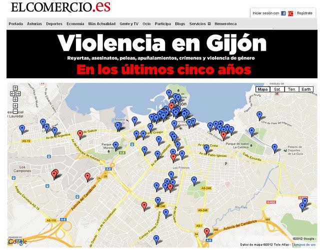 El Comercio Mapa del crimen