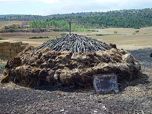 Resultado de imagen de cómo se hace Carbón Vegetal