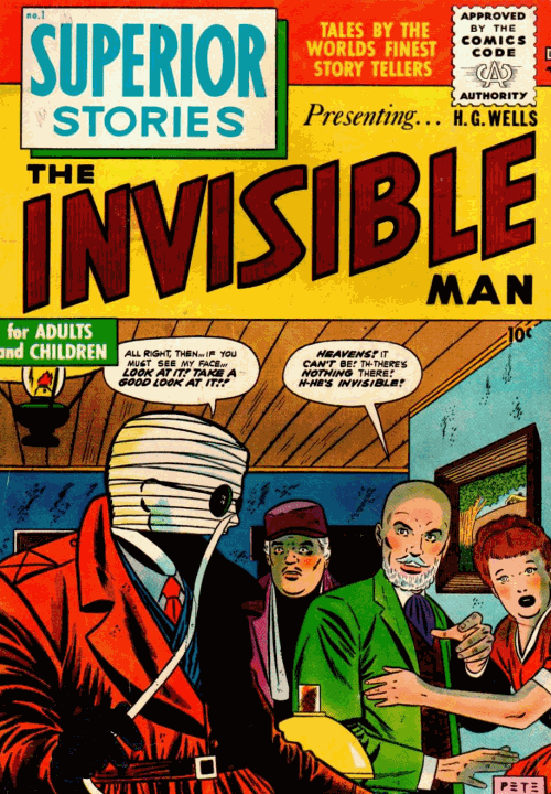 Week 148 - Superior Stories 1 - The Invisible Man  Forum