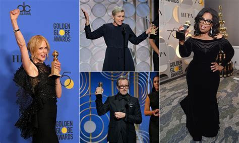 Golden Globes 2018: All the highlights, from winners to