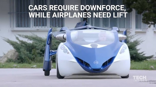 This Flying Car is Real and It Can Fly 430 Miles on a Full Tank!
