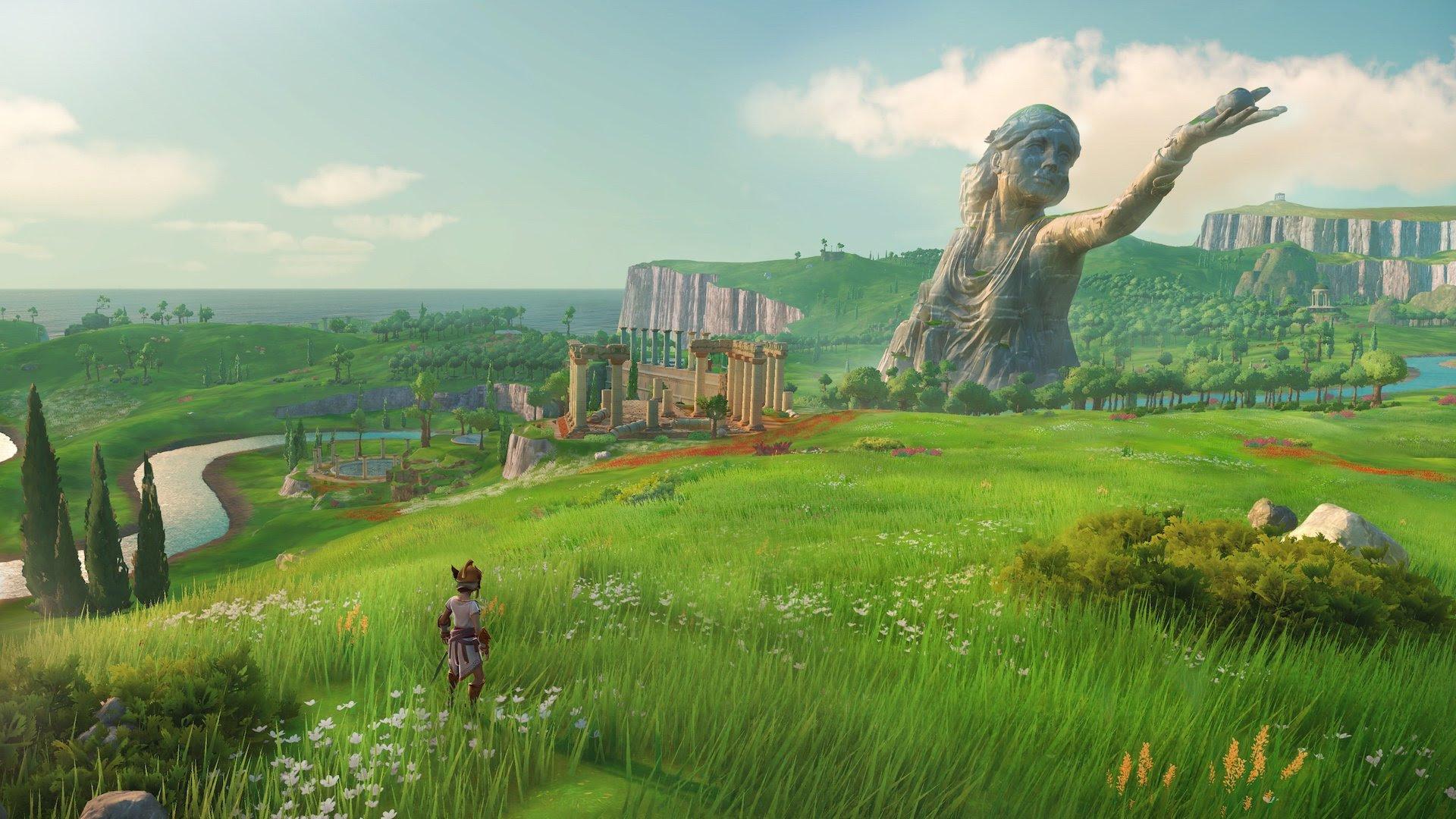 E3 2019 Gods Monsters Is Like Zelda Breath Of The Wild Meets