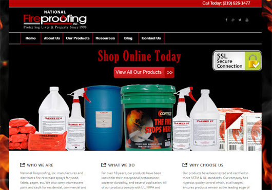 National Fireproofing, Inc. - Internet Solutions For Less