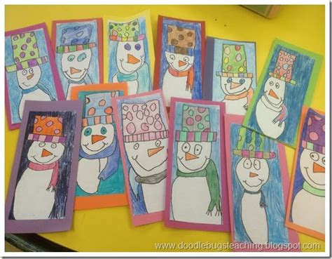 images  winter art projects  kids