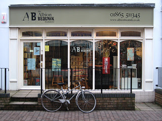 Albion Beatnik and bicycle
