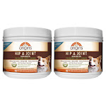Pet Origins Advanced Vet Strength Hip & Joint Soft Chews for LG Dogs 100-Count, 2-Pack