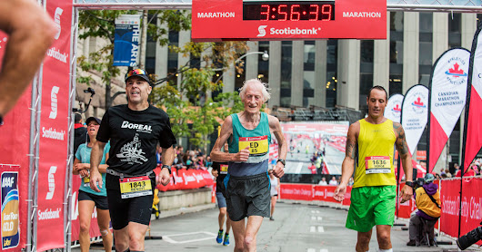 85-Year-Old Marathoner Is So Fast That Even Scientists Marvel - The New York Times