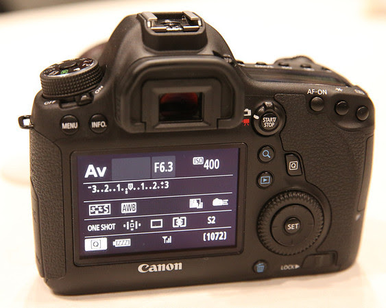 Canon 6D Rear View