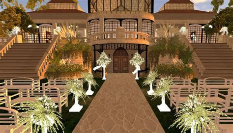 Virtual Weddings in Second Life ? Video: Location Location
