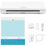 Silhouette Cameo 3 Bluetooth, Auto Adjusting Blade, Enhanced Touch Screen, and More, White