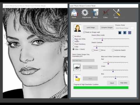 Tool xử lý nhanh file hình ảnh màu ra file khắc laser