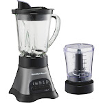 Hamilton Beach 58149 12-Speed 2-in-1 Blender and Chopper
