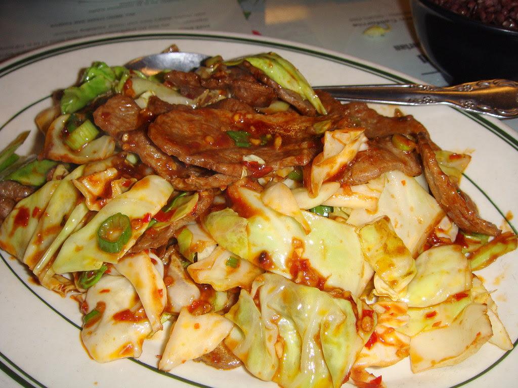 """Mongolian """"Beef"""""""