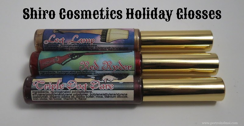 Shiro Cosmetics Holiday Glosses