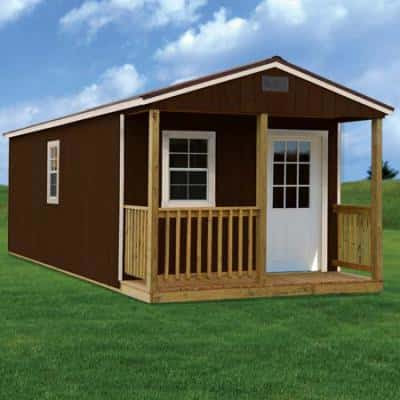Get the Fishing &Custom Cabins |Rent to own storage shed | Yard Barns