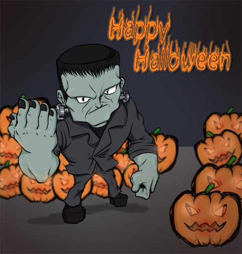 Resultado de imagem para halloween Frankenstein