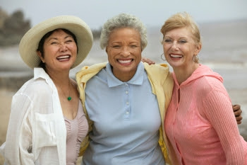 Photo of three women