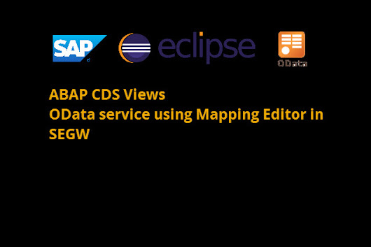 How to create OData Service for ABAP CDS View using Mapping Editor in SEGW - SAP Fiori,SAP HANA,SAPUI5,SAP Netweaver Gateway Tutorials,Interview Questions|SAP Learners