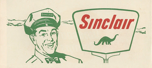 Sinclair Dinosaur Stamps