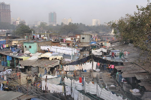 The Famous Dhobi Ghats of Mahalaxmi by firoze shakir photographerno1