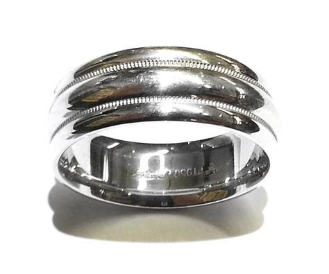 Scott Kay Men's Platinum (PT950) Wedding Band Size 10.1/8