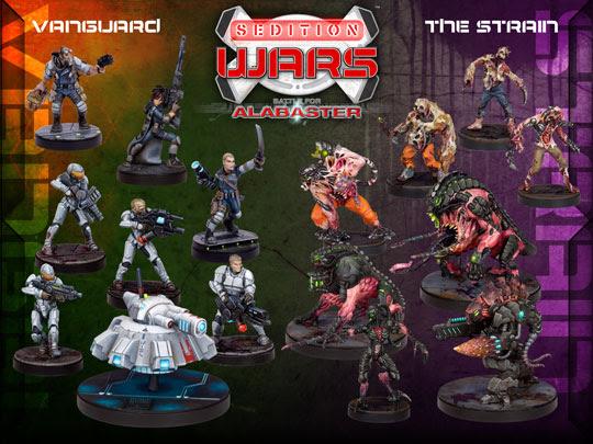 Sedition Wars on Kickstarter