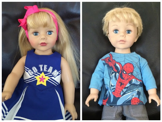 "How I created an ""American Boy"" doll for my son"