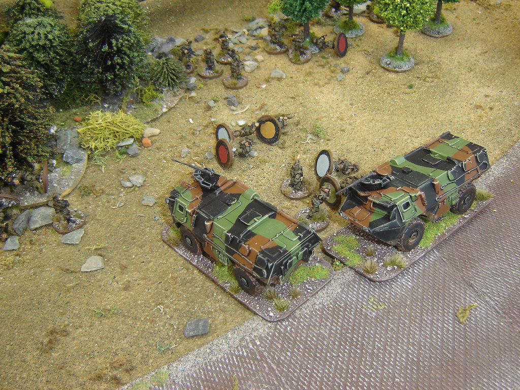 Despite protection of VABs French casualties continue to mount